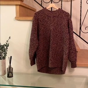 Le fou Wilfred oversized knit sweater size 1